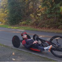 Travis Gaertner Training Handbike