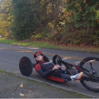Travis Gaertner Training Handbike